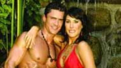 Jorge de Silva presume a su novia Elizabeth