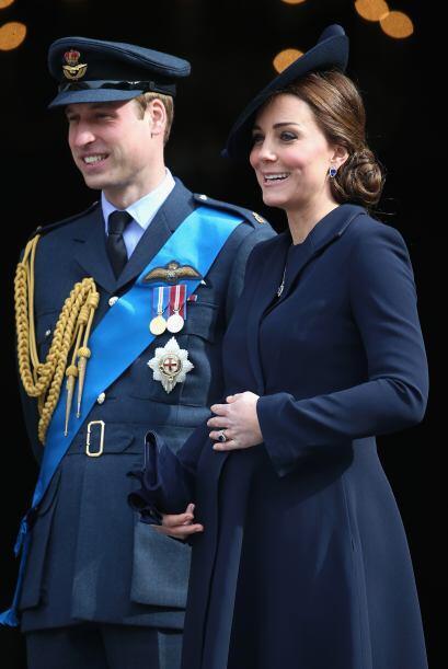 Y Kate lució una vez más su embarazo.