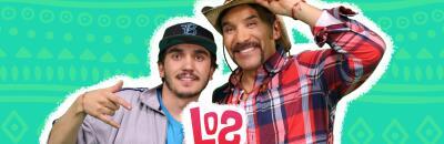 Luis Hernández y Mike Martínez, juntos son Los Cousins