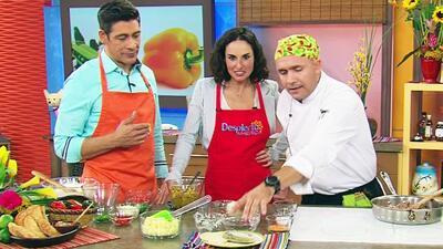 Ana Serradilla aprendió a preparar empanadas de carne con ají