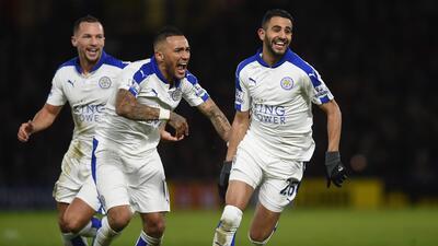 Leicester ganó con gol de Riyad Mahrez