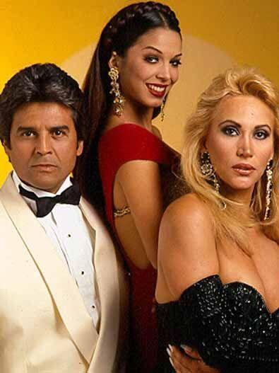 """¿Te acuerdas de """"Dos mujeres un camino""""? Esa telenovela fue un triángulo..."""