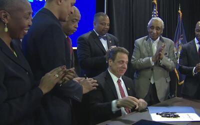 Nueva York, el primer estado del país en aprobar matrículas gratis en la...