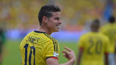 Colombia 1-0 Bolivia: James salva los tres puntos para los 'cafeteros' en Barranquilla