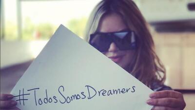Chiquis Rivera,  mujer solidaria con sus compañeros y con los 'dreamers'