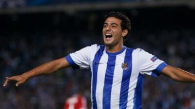 Carlos Vela podría llegar al Atlético de Madrid.