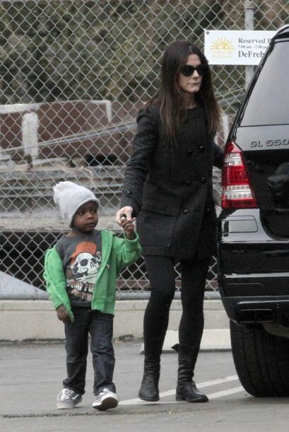 Otro 'fashionista' es Louis, hijo de la famosa estrella hollywoodense Sa...