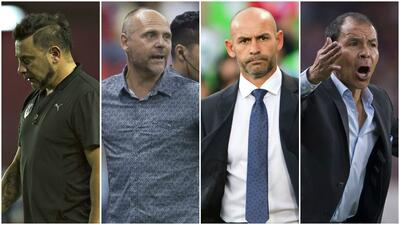 Jémez, Torrente y otros entrenadores en la cuerda floja en la Liga MX