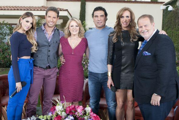 En su último día en México, Lili Estefan y Raúl de Molina contaron con l...