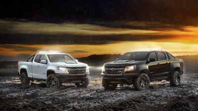 Chevrolet Colorado ZR2 ediciones Midnight y Dusk, más estilo a esta versión extrema