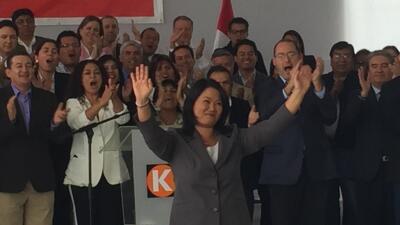 """Keiko Fujimori reconoce su derrota y dice que ejercerá una """"oposición responsable"""""""