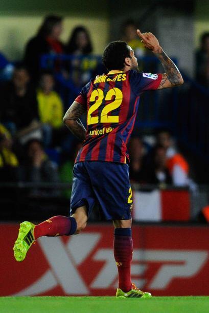 Dani Alves causaría un autogol, con el que los catalanes se ponían a un...