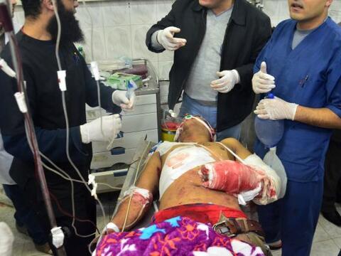 Shawadfi hizo un llamamiento a la población para que done sangre...