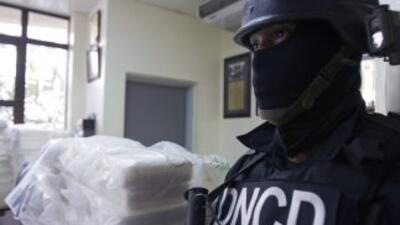 Autoridades antidrogas de República Dominicana.