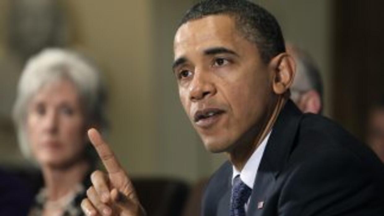 El presidente citó a los líderes republicanos a la Casa Blanca.