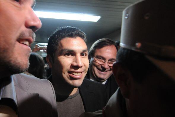 El futbolista paraguayo Salvador Cabañas finalmente rindió declaración s...