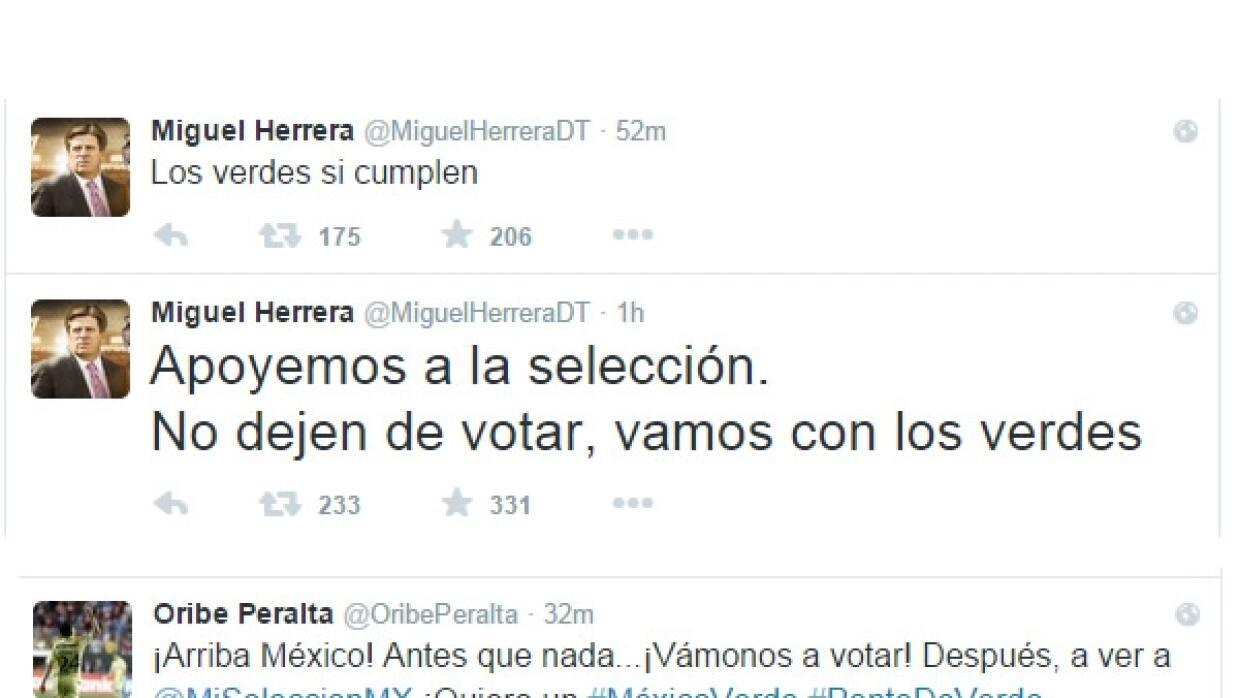 Miguel Herrera Twitter