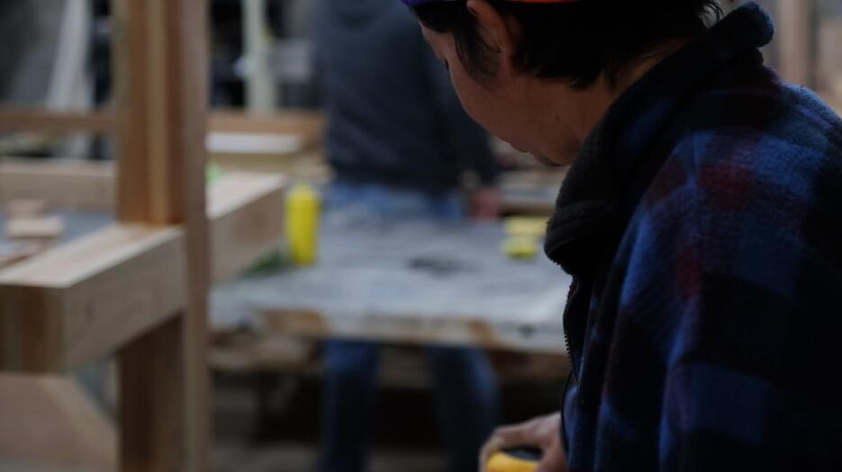 En el taller de una pareja centroamericana radicada en Ciudad Juárez, Jo...