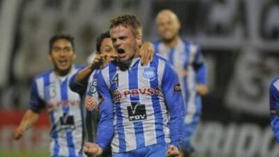 El argentino Cristian Nasuti seguirá defendiendo los colores del Emelec...