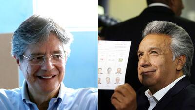 En fotos: Estos son los candidatos que se disputarán la segunda vuelta en Ecuador