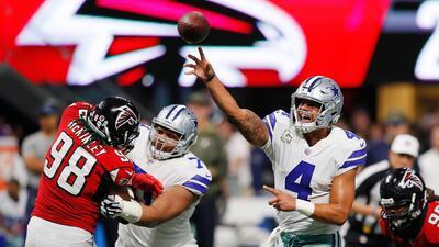 Cowboys y Falcons se juegan gran parte de la temporada en la Semana 11
