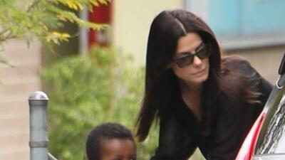 La presencia de la oscarizada Sandra Bullock en la alfombra roja era ini...