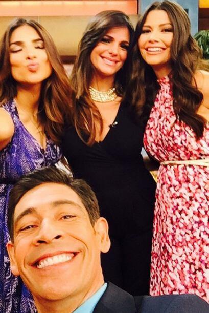 """""""Foto con las hermosas embarazadas de Univision, Ale Espinoza, Ana Patri..."""