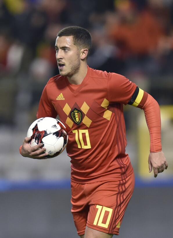 Grupo G. Eden Hazard (Bélgica) - sin duda, es la gran figura del Chelsea...