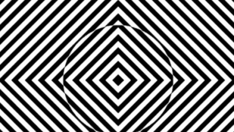 Strobe Illusion se basa en el movimiento continuo y el contraste de vari...