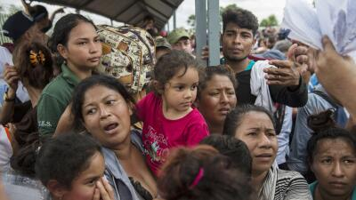 "Caravana de migrantes pone en evidencia ""éxodo silencioso"" de refugiados centroamericanos"