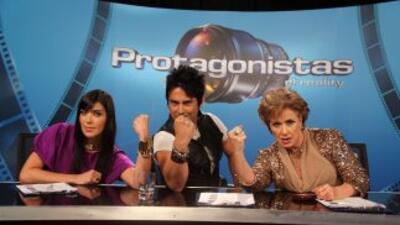 Isabella Santo Domingo, Beto Cuevas y Laura Zapata.