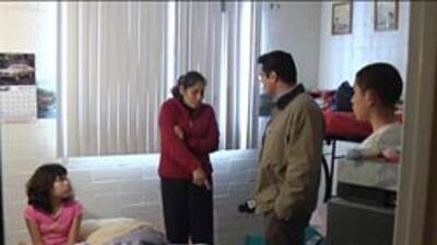 Familia affectada en un asalto domiciliario