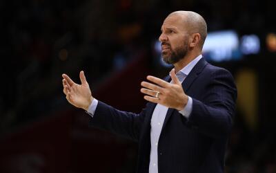 Kidd, de 44 años, ganó un campeonato como jugador con Dall...