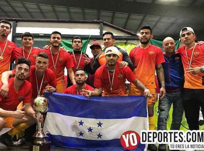 Liga de fútbol 5 de mayo celebró sus juegos de campeonato de liga invern...