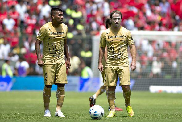 Ahora los Pumas buscaron emularlos con una base similar con Palacios en...