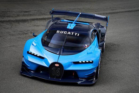 """Bugatti muestra """"en vivo"""" a su espectacular Vision Gran Turismo en el Mo..."""