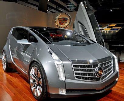 Ubran Luxury ConceptCadillac presentó en el Autoshow de Los Ángeles el U...