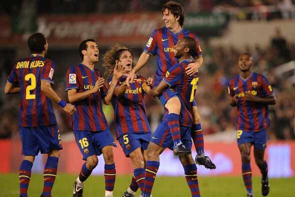 Barcelona, el equipo de moda en la actualidad, encarará el Clásico Españ...