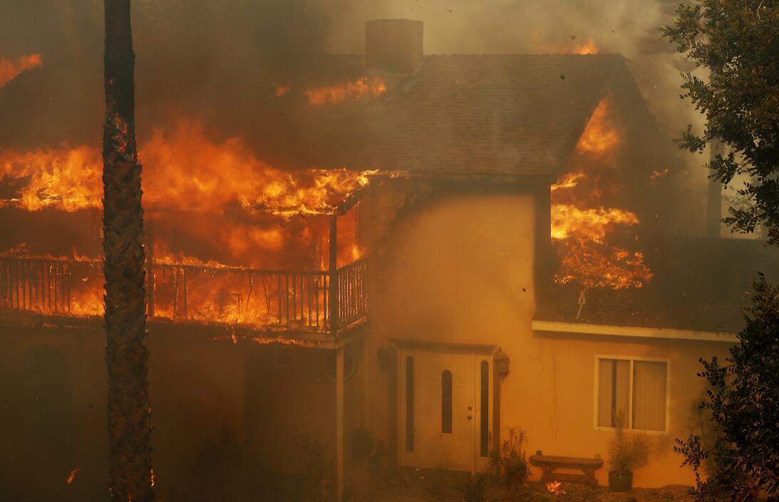 Los Ángeles Incendio