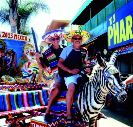 Los hermanos Rich y Randy Vutech regresaron 60 años después a Tijuana.