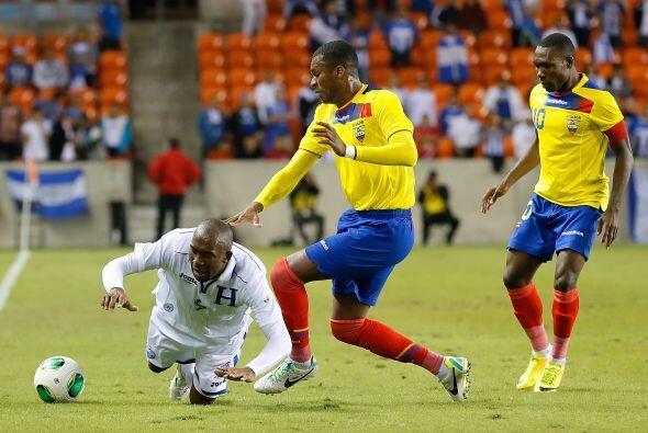 Partidazo de Ecuador vs. Honduras en Houston