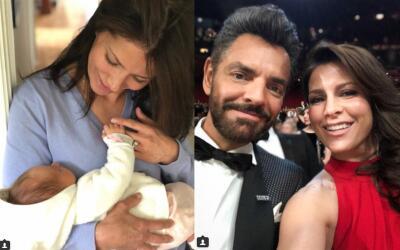 Alessandra Rosaldo sostiene en brazos a su nieta, Kailani, y lanza un me...