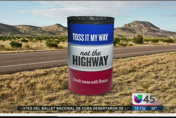 En Texas hasta los barriles hablan, al menos eso es lo que vemos con est...
