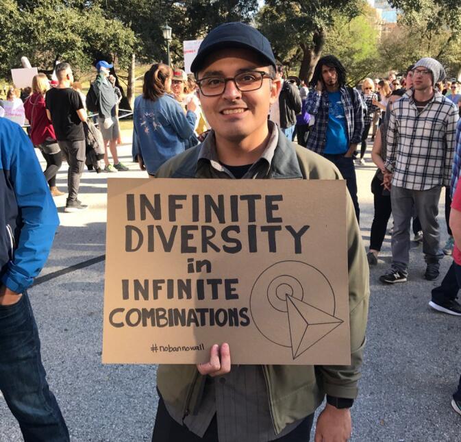 26 carteles de la manifestación proinmigrante de Austin que reflejan el...