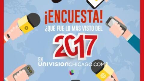 Lo más visto de Univision Chicago.com en el 2017
