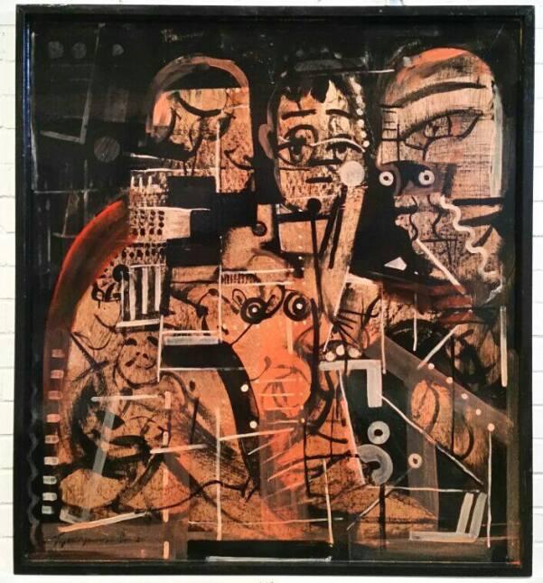 Francisco Tejada Jaramillo calcula que elaboró más de 2,000 cuadros en l...