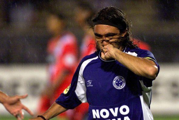 Juan Pablo Sorín, hoy retirado del fútbol activo, fue ídolo del Cruzeiro...