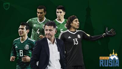 Juan Carlos Osorio da a conocer la prelista de México rumbo al Mundial de Rusia 2018