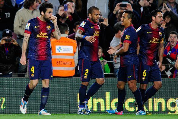 El Barcelona resolvía un partido que parecía destinado a un soso empate.