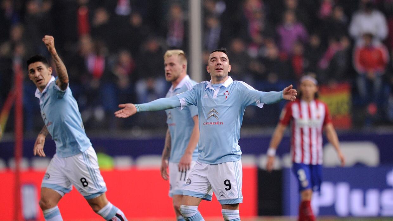 Celta eliminó al Atlético en Copa del Rey